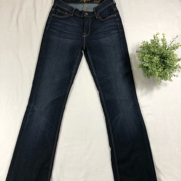 7 For All Mankind Denim - 7 For All Mankind Mid Rise Jeans Bootcut EUC
